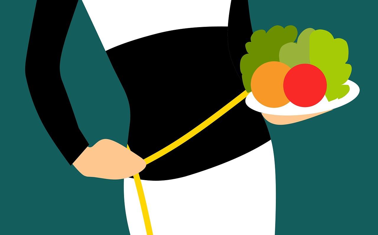 ダイエットでは1週間以上の長めの期間で体重の変動を見たほうが良い